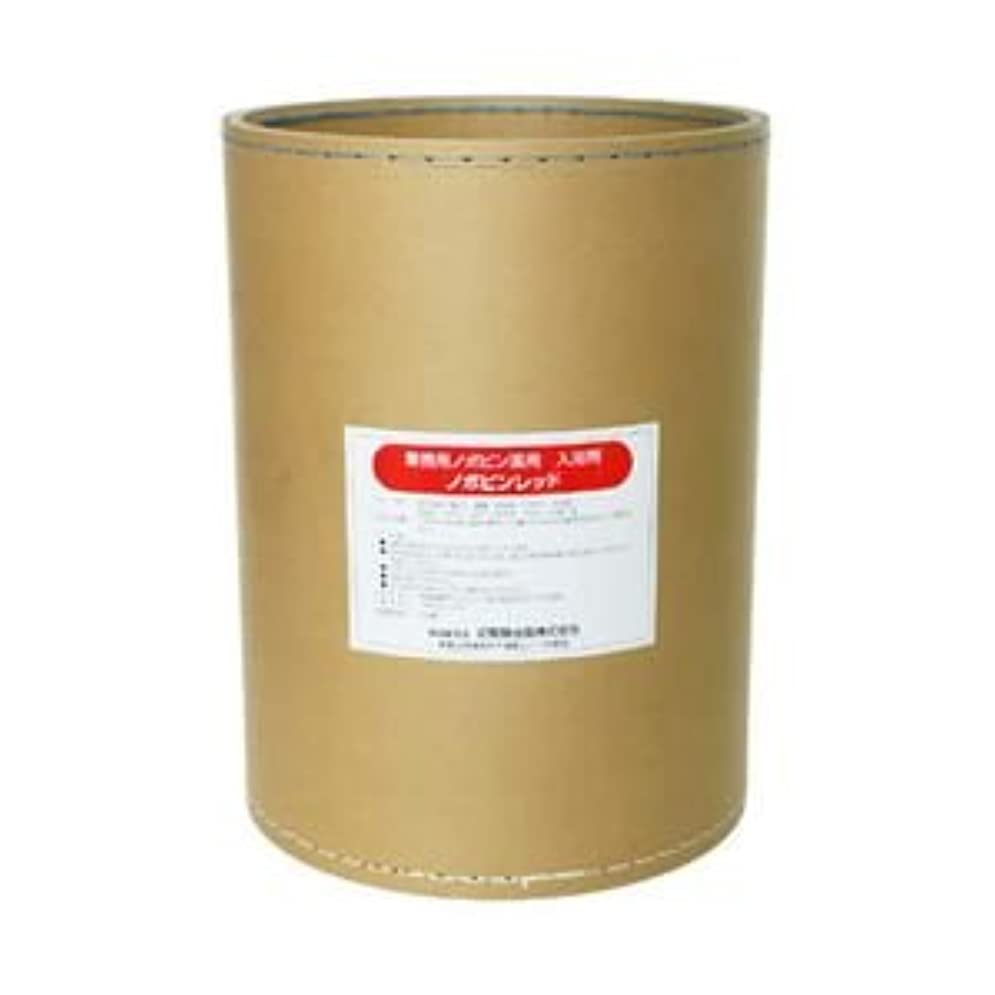 その故意の建てる業務用入浴剤 ノボピン レッド 18kg