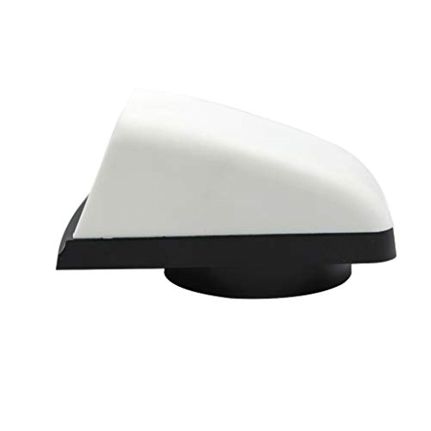 嵐が丘エキスパートできればAlmencla 3インチボートベントカバー フードベントカバー プラスチック製 ホワイト ブラック 通気孔