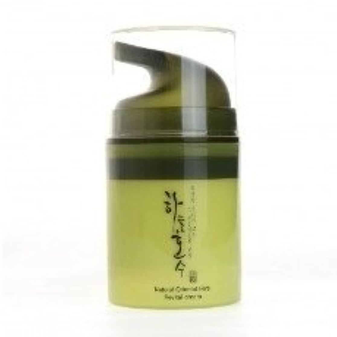 乳白色紳士気取りの、きざな効能Skylake Natural Oriental Herb Revital Cream ハヌルホス ナチュラルオリエンタル ハーブリバイタルクリーム [並行輸入品]
