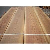 建築材、DIYに最適 【カット無料】国産杉板(日田杉) 無垢、一面無節材(上下二面のうち) 長さ1.97m 厚み1.2cm 幅26cm