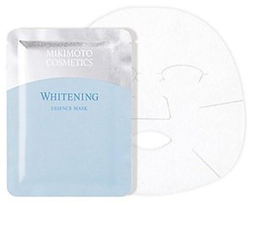 スカリー裏切り意識的ミキモト ホワイトニング エッセンス マスク 21mlx6枚入 薬用美白状シートマスク