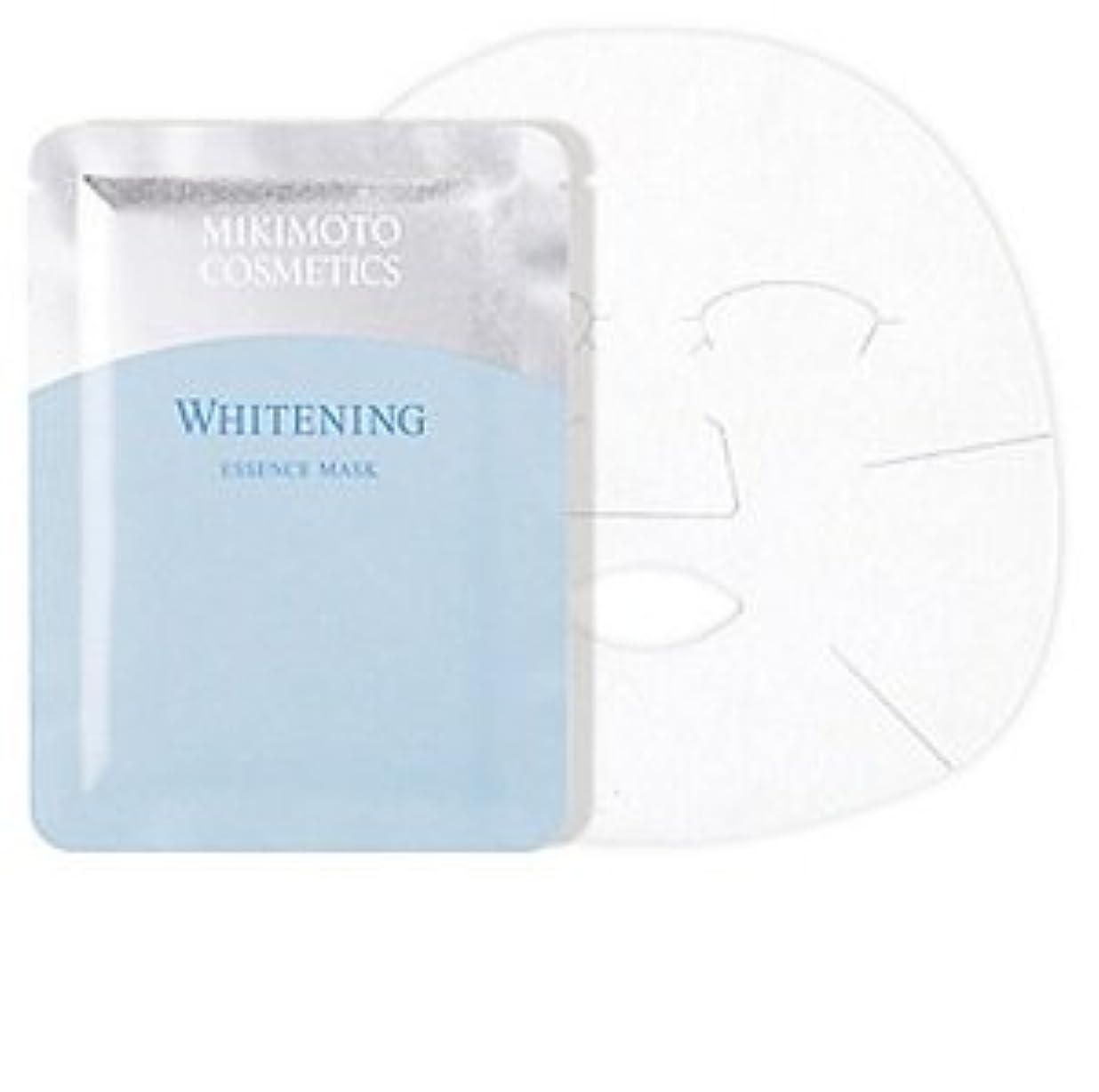 視聴者パステル与えるミキモト ホワイトニング エッセンス マスク 21mlx6枚入 薬用美白状シートマスク