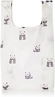 Gelato Pique PWGB214630 IVR Handy Eco Bag with Panda Pattern