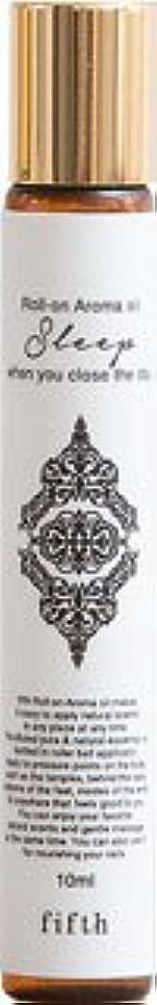 飾る無関心菊フィフス ロールオン アロマオイル スリープ 【ラベンダー】 無添加 保存料一切なし