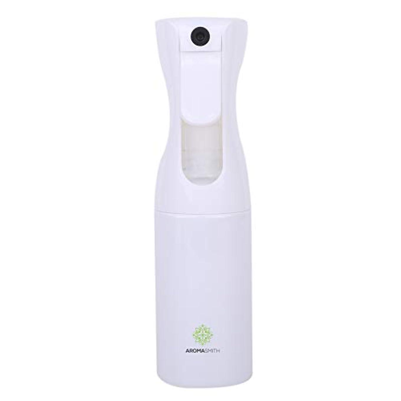 アロマスミス ミスティースプレー スプレーボトル 連続ミスト噴射可能 160ml (Mサイズ 160ml, ホワイトキャップにホワイトボトル)