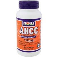 [海外直送品][2本セット]NOW FoodsAHCC‐活性化多糖類関連化合物 60カプセル