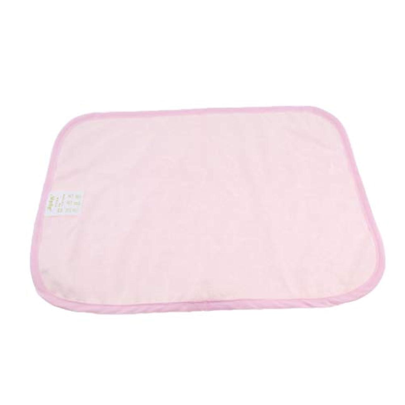 肉のブリリアントバズdailymall 失禁パッド 介護用ベッド 敷きパッド 尿漏れ対応 吸水 子供 高齢者 出産後 洗濯可能 全2色 - ピンク