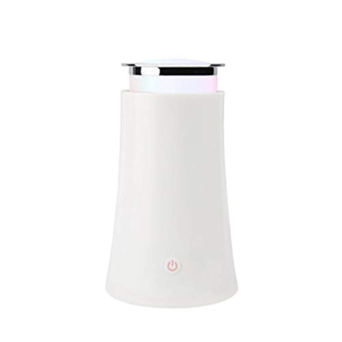 買ううなり声クリックサイレントカラースプレー機超音波加湿器プラグイン加湿器香機世帯 (Color : White)