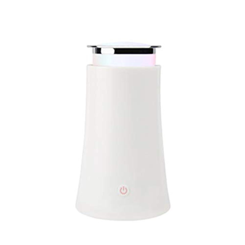 アプローチ宣伝広告するサイレントカラースプレー機超音波加湿器プラグイン加湿器香機世帯 (Color : White)