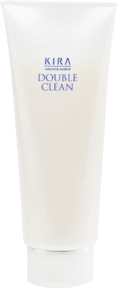 高度な距離ヘビー綺羅化粧品 ダブルクリーン 160g (洗顔料)