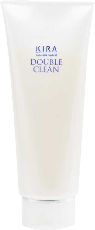 眩惑するウェイド縞模様の綺羅化粧品 ダブルクリーン 160g (洗顔料)