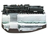 「なつかしの20世紀」タイムスリップグリコ 第3弾 「蒸気機関車C62-2号(雪景色バージョン)」(単品)