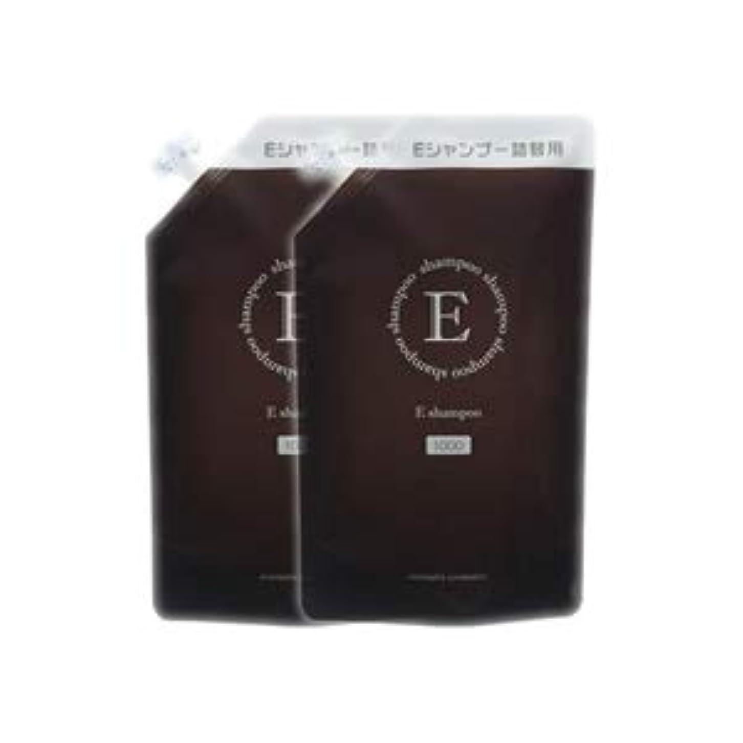 排泄物ペルソナスポンジエバメール Eシャンプー 1000ml 詰替え用 2本セット