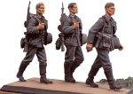 アンドレアミニチュアズ S5-S1 German Infantry Walking Set I