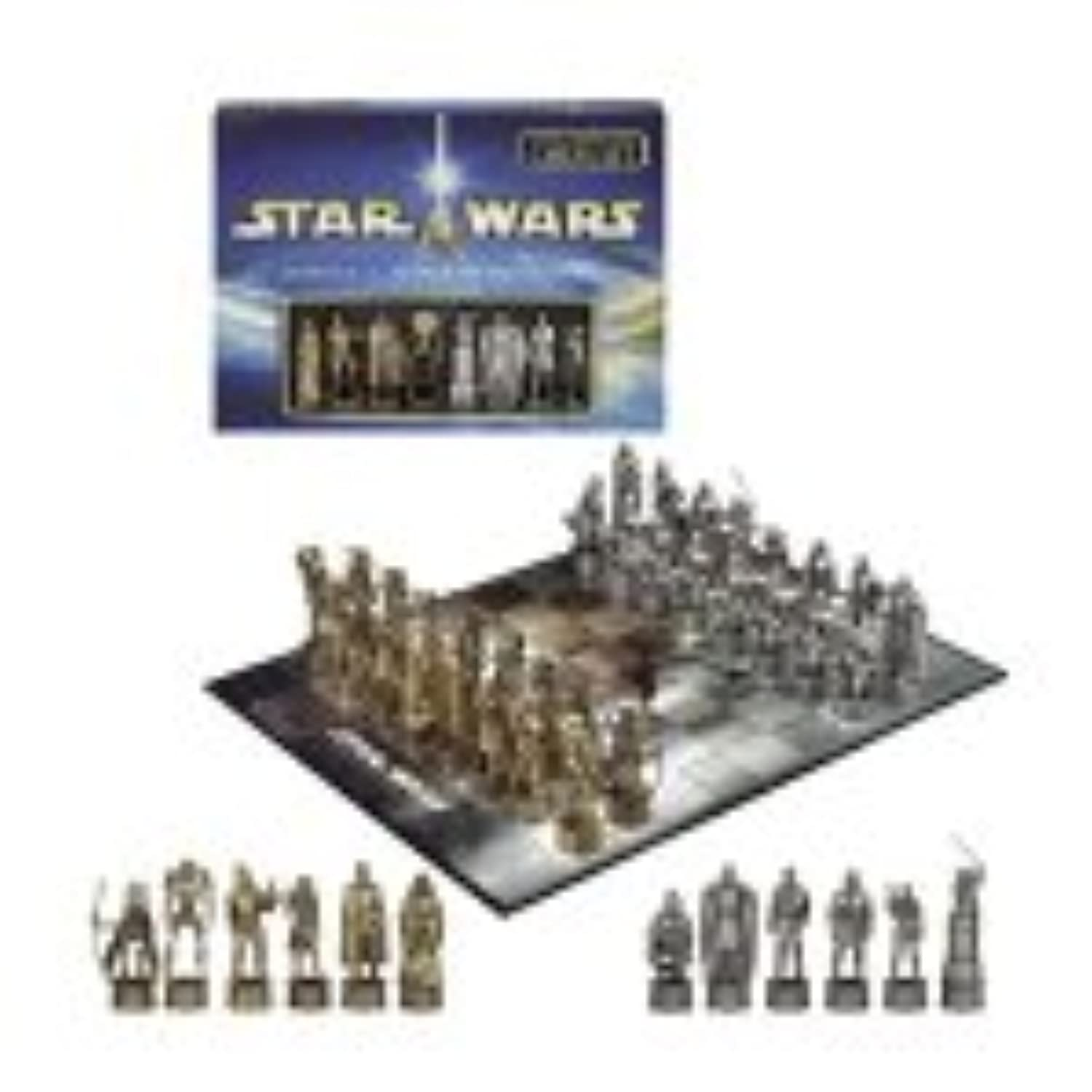 Star Wars Episode II: Attack of the Clones Chess Set