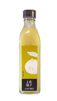 土佐の果汁100% 柚子 300ml×1瓶 農薬不使用 無添加 高知の旬の果実 美味しさそのまま 瓶詰めしました