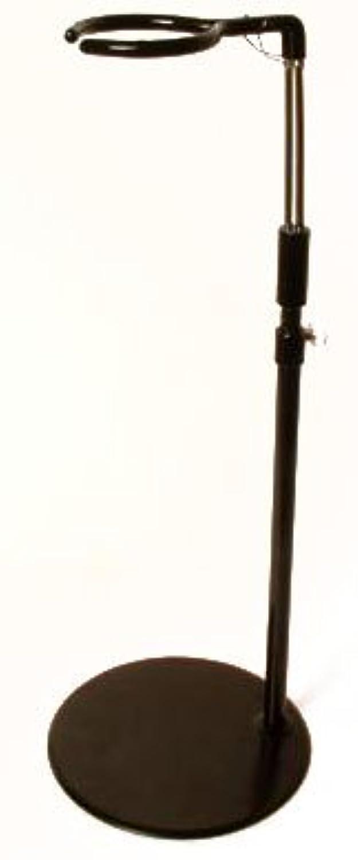 60cmドール用 ドールスタンド (黒)