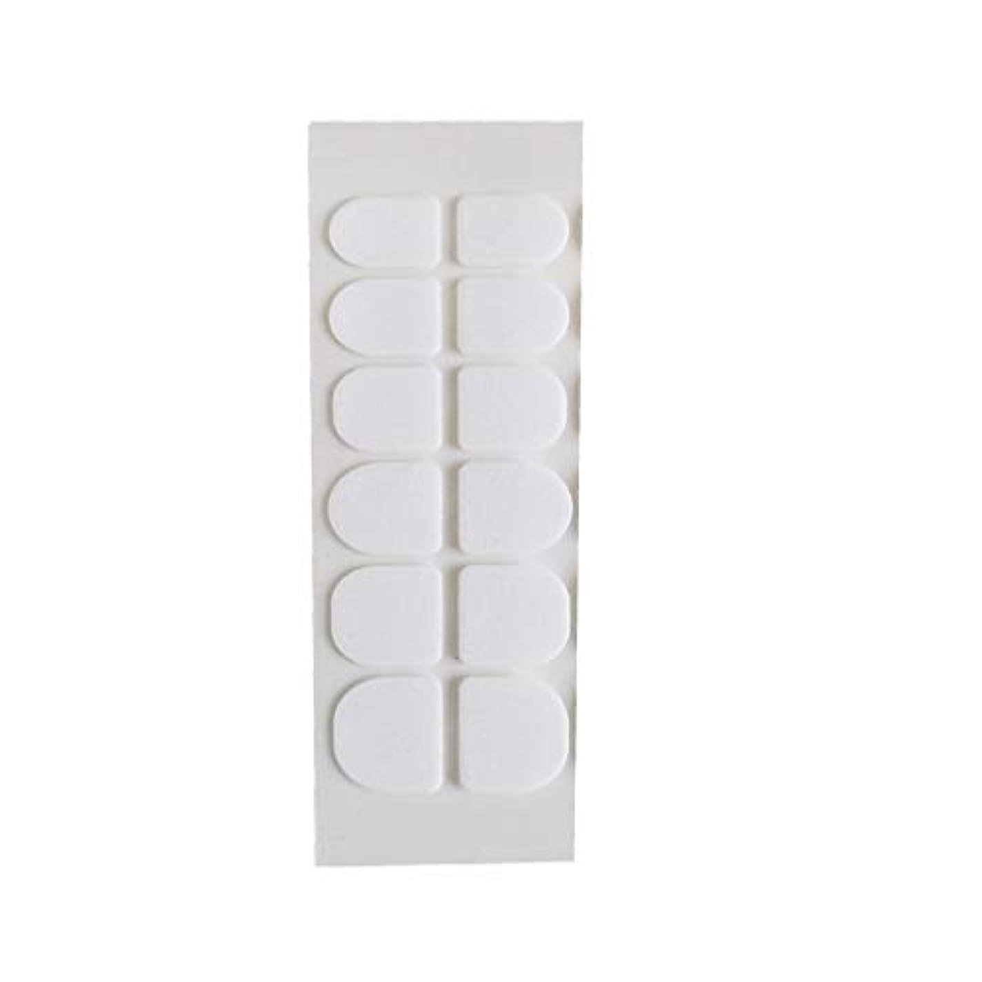 有効化減らすコストPosmant マニキュア 偽の爪 ゼリー 両面接着剤 環境に優しい 透明 目に見えない ネイルクリップ接着剤 ウェアラブルアーマー スーパースティッキー 透明 24個 5PCS 複数の色 選択できます 便利な