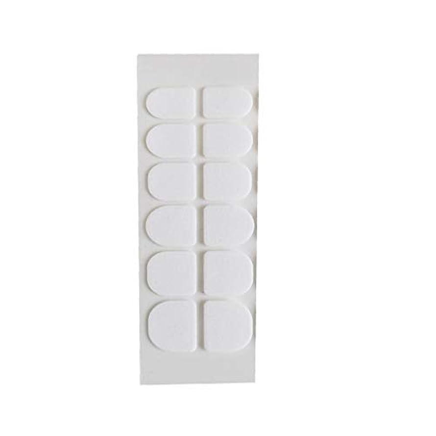 虫を数えるメロン真夜中Posmant マニキュア 偽の爪 ゼリー 両面接着剤 環境に優しい 透明 目に見えない ネイルクリップ接着剤 ウェアラブルアーマー スーパースティッキー 透明 24個 5PCS 複数の色 選択できます 便利な