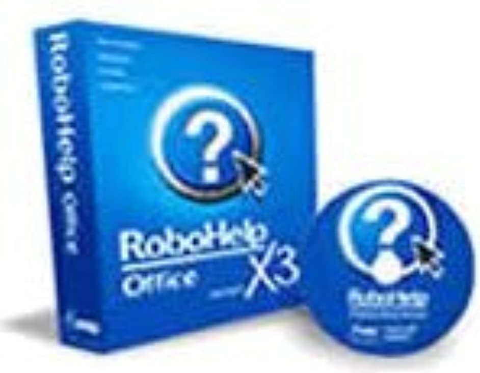 区別する比喩下品RoboHelp Office X3 Windows