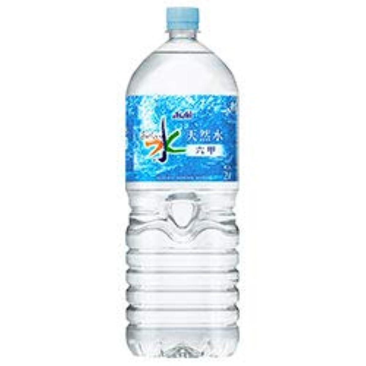 株式会社プラットフォーム預言者アサヒ飲料 おいしい水 天然水 六甲 2Lペットボトル×6本入×(2ケース)
