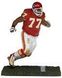 NFLシリーズ11図: Willie Roaf、Kansas City Chiefsレッドジャージー