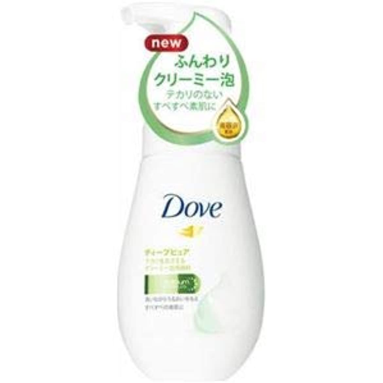 テナントいわゆるメイン(まとめ)ユニリーバ Dove(ダヴ) ダヴディープピュアクリーミー泡洗顔料 【×3点セット】