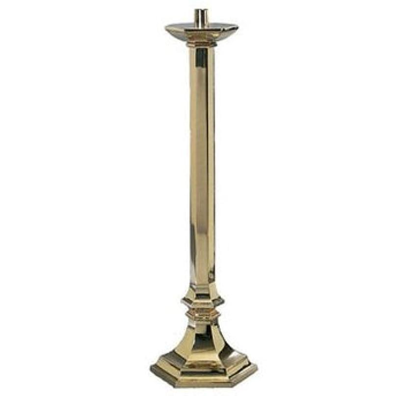 コマンド公平より多いPaschal Candlestick Metal Finish: High Polish Bronze, 44