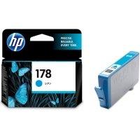 HP HP178 インクカートリッジ シアン CB318HJ 1個