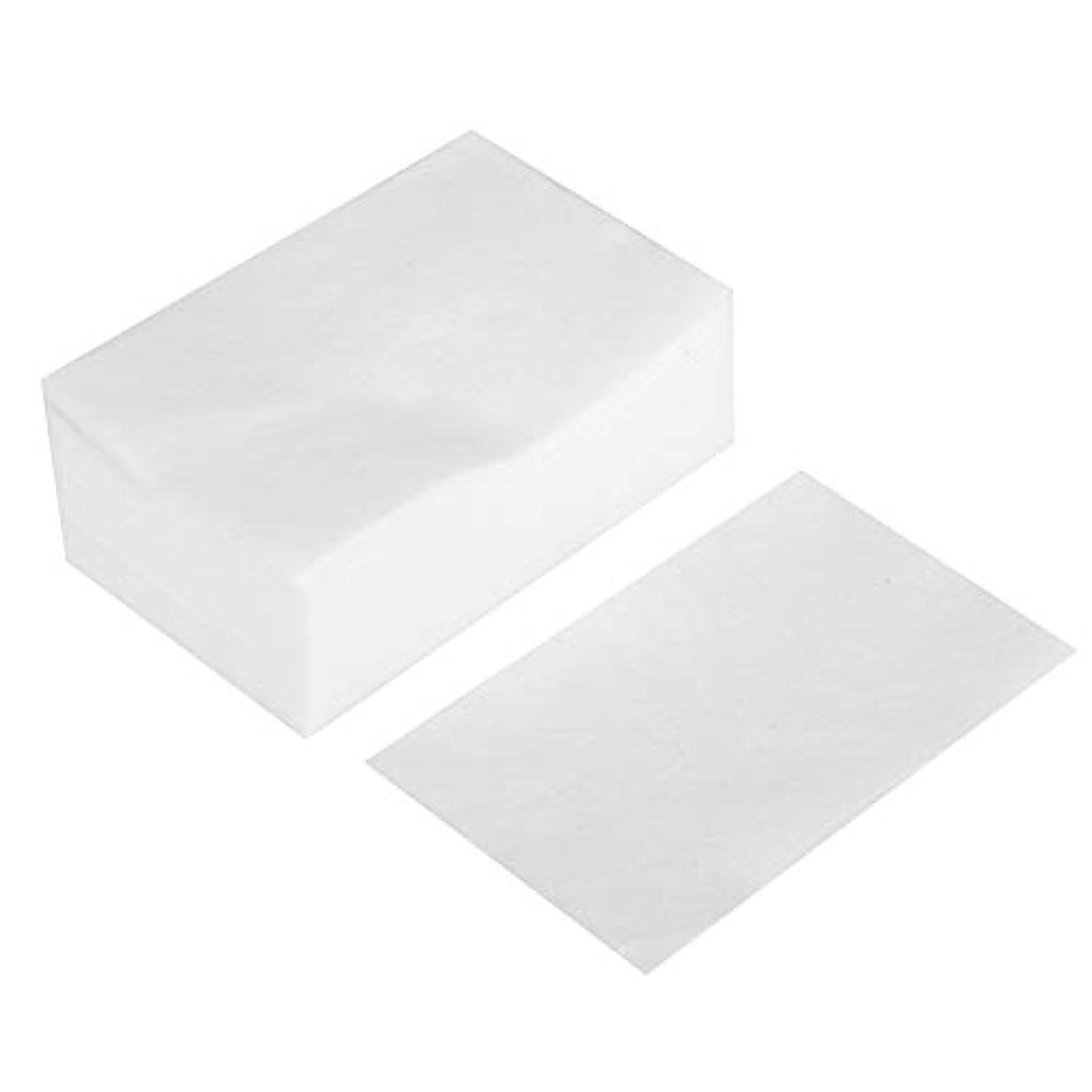 物理的な性差別分岐するメイク落とし - 100個/箱使い捨てメイクアップコットンパッド化粧品リムーバークリーニングワイプ
