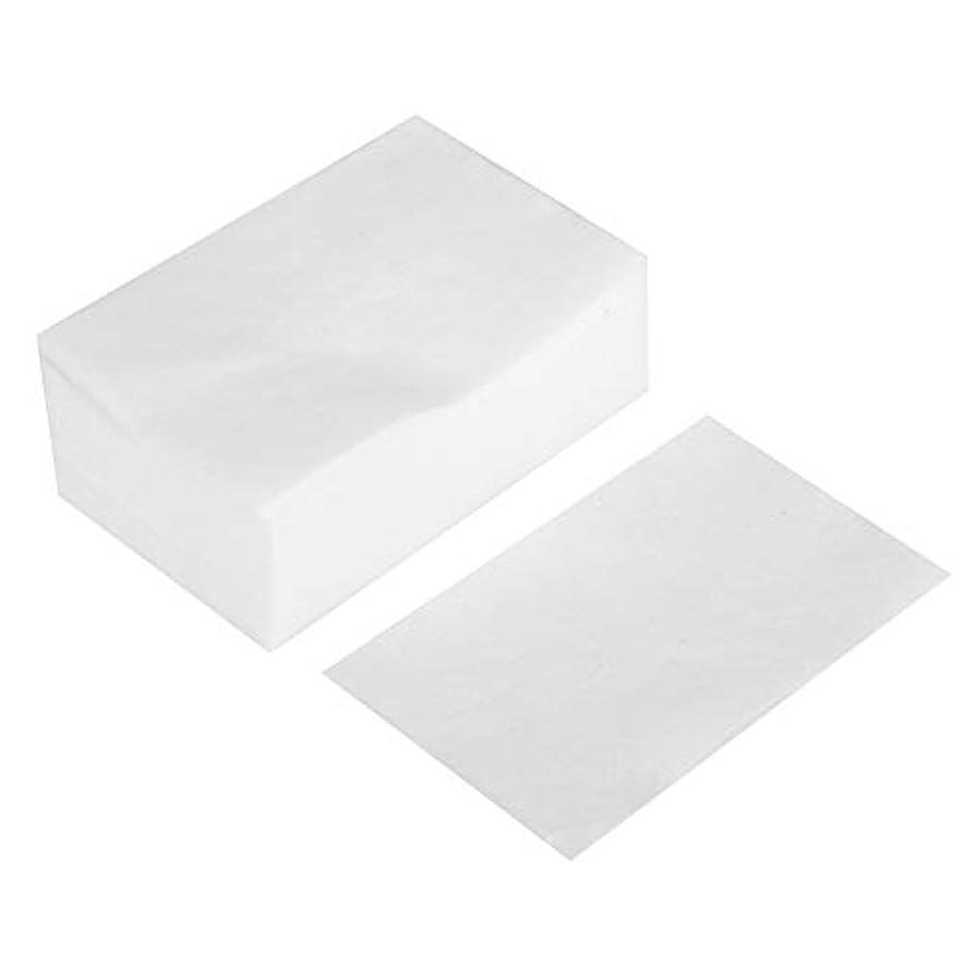 メイク落とし - 100個/箱使い捨てメイクアップコットンパッド化粧品リムーバークリーニングワイプ