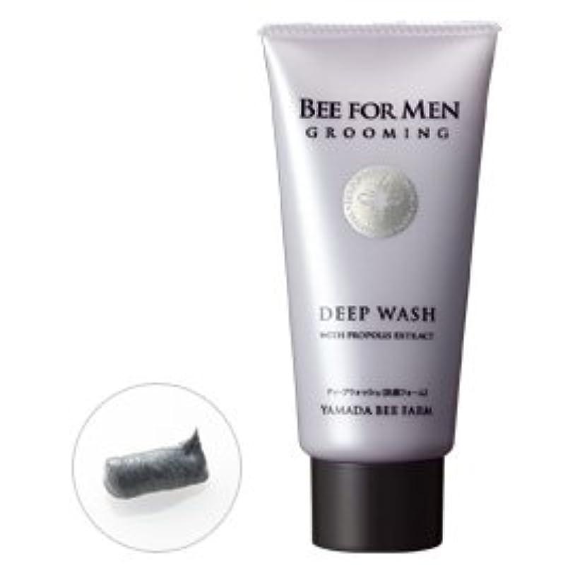 ベーシックり隔離BEE FOR MEN ディープウォッシュ〈男性用洗顔フォーム〉 100g/Bee for men Deep Wash (facial foam for men)<100g>
