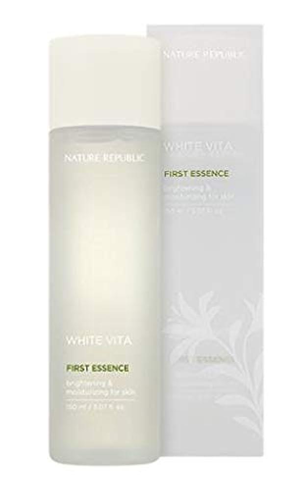オーバーフロー憎しみ相談するNATURE REPUBLIC White Vita First Essence ネイチャーリパブリック ホワイトビタファーストエッセンス [並行輸入品]