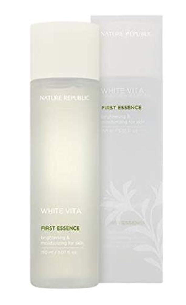 のど美容師援助NATURE REPUBLIC White Vita First Essence ネイチャーリパブリック ホワイトビタファーストエッセンス [並行輸入品]