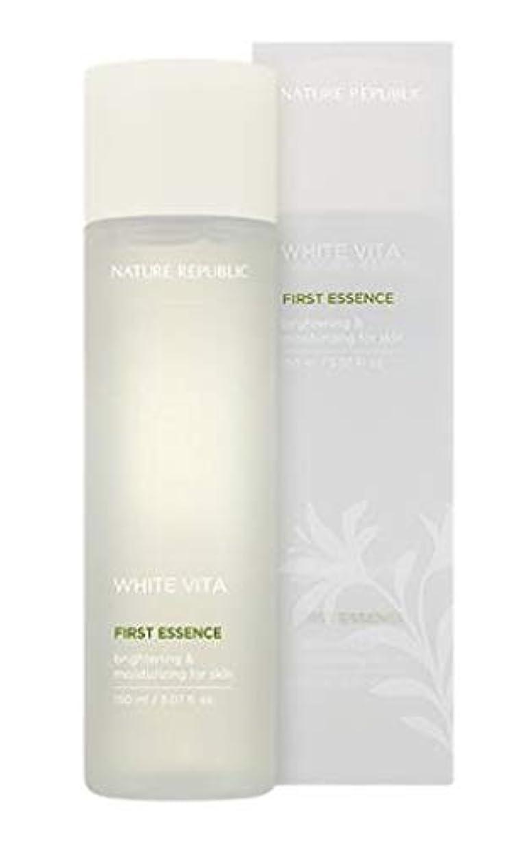治療レイみNATURE REPUBLIC White Vita First Essence ネイチャーリパブリック ホワイトビタファーストエッセンス [並行輸入品]