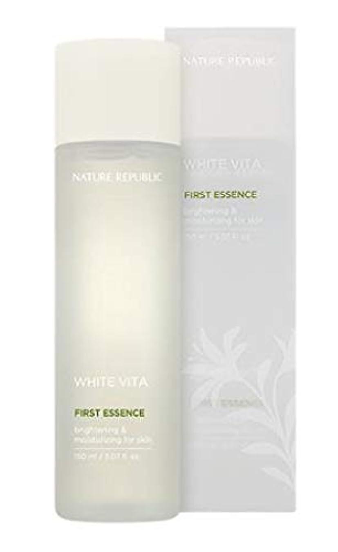 叱る裁判官多数のNATURE REPUBLIC White Vita First Essence ネイチャーリパブリック ホワイトビタファーストエッセンス [並行輸入品]