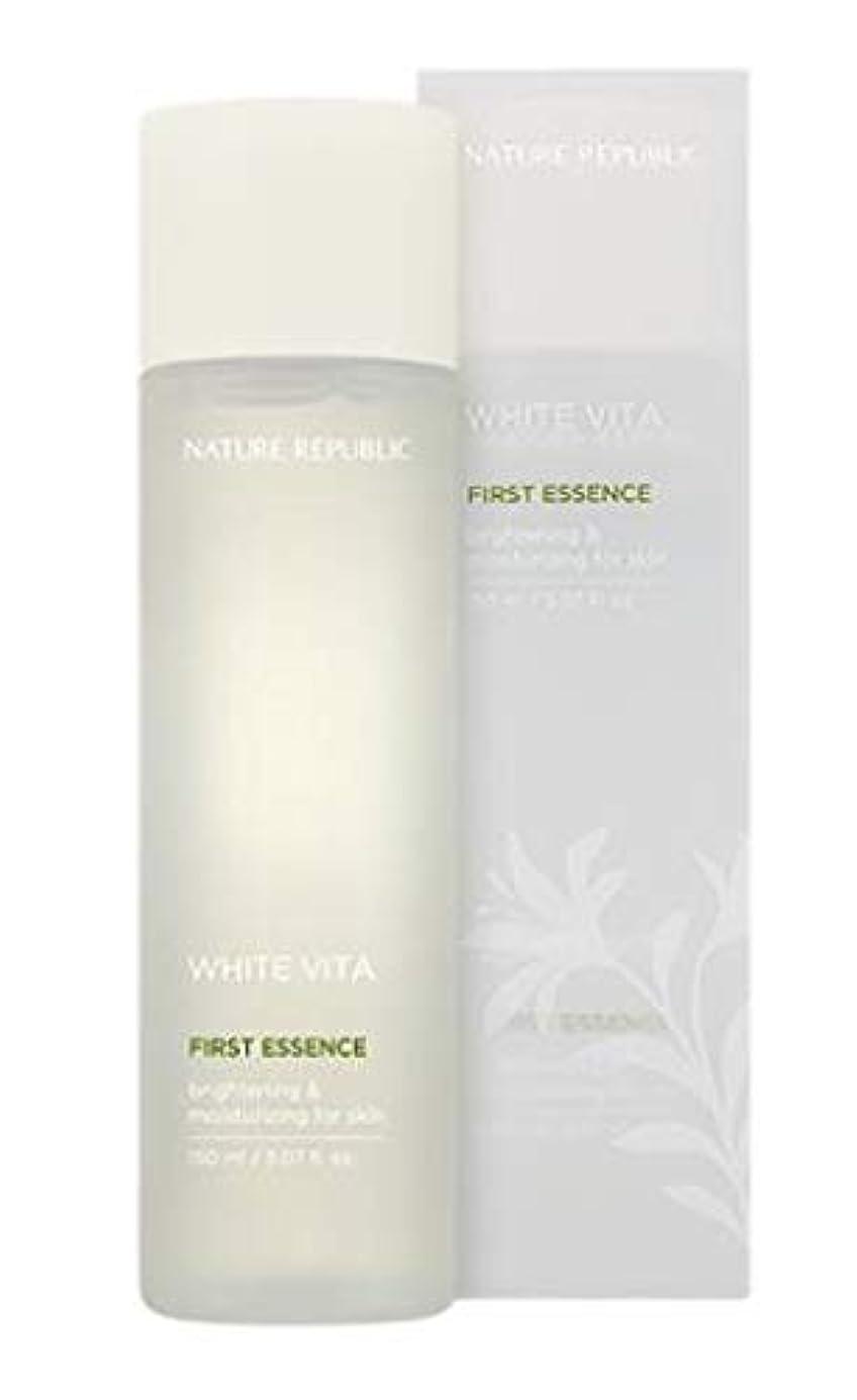 略奪腹痛酸度NATURE REPUBLIC White Vita First Essence ネイチャーリパブリック ホワイトビタファーストエッセンス [並行輸入品]