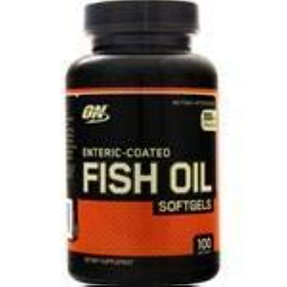 誇張毎週クレジット腸溶性コーティング 魚油 100 sgels   3個パック