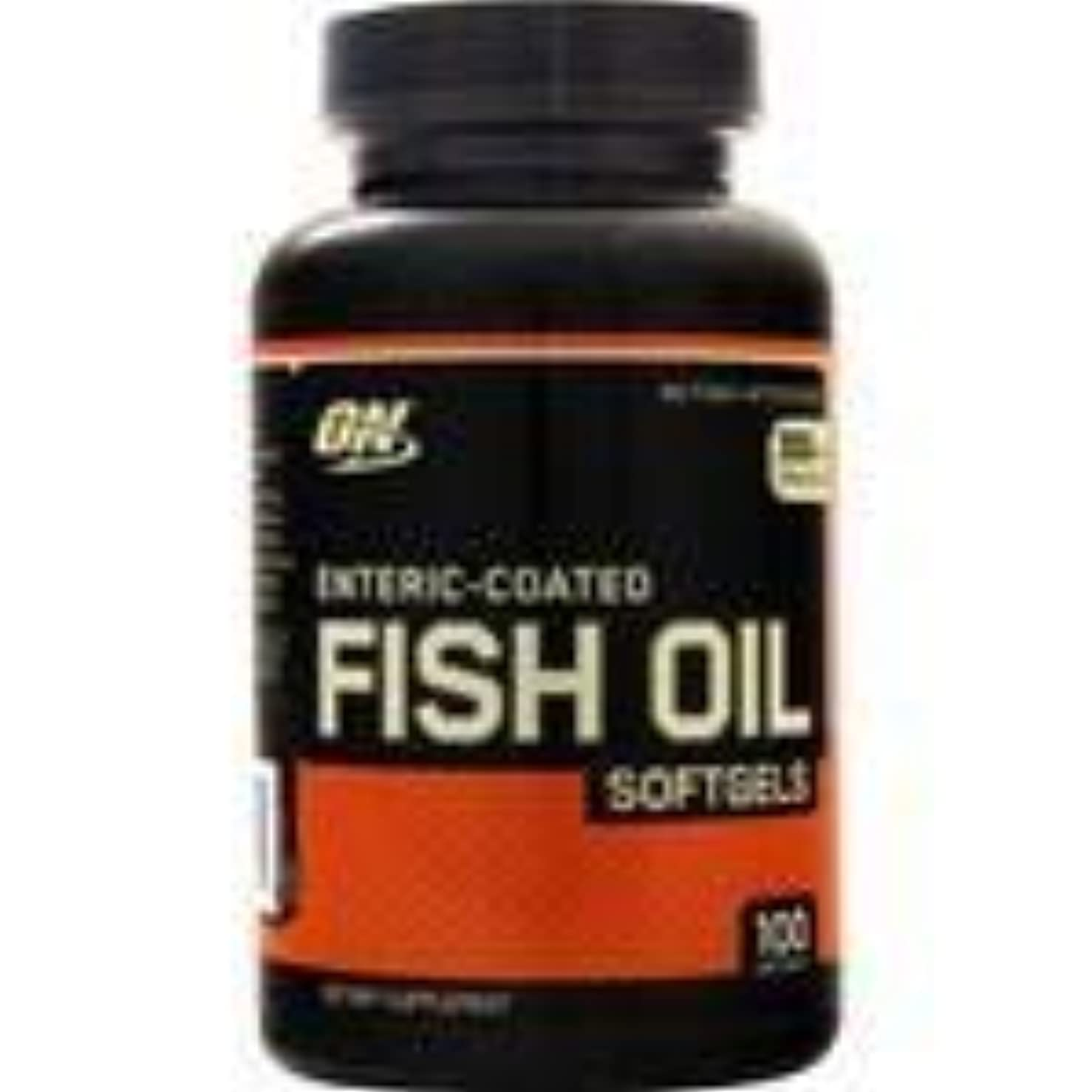 昇進緊張する素晴らしさ腸溶性コーティング 魚油 100 sgels   3個パック