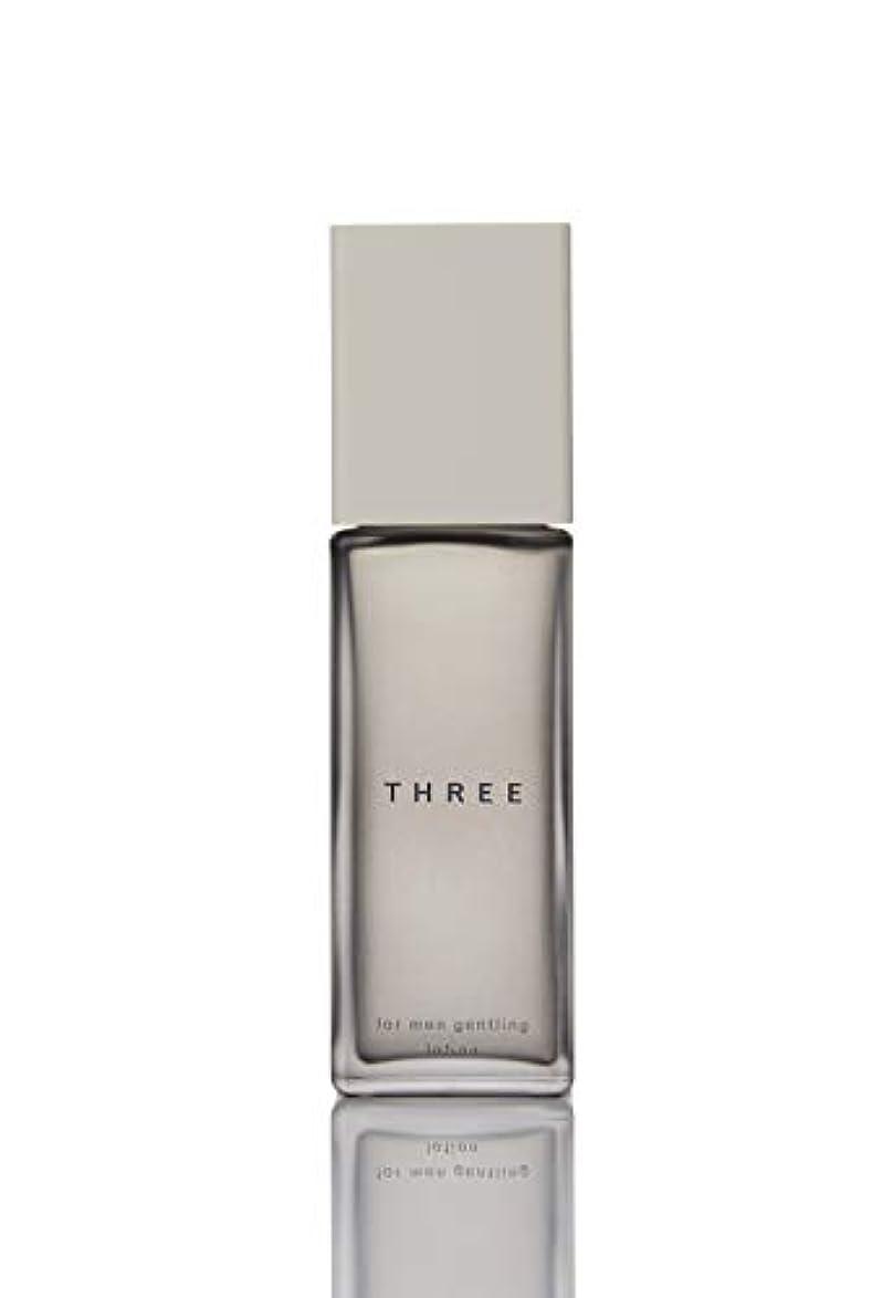 インスタント遅れ皮肉FIVEISM × THREE(ファイブイズム バイ スリー) THREE フォー?メン ジェントリング ローション 100mL 化粧水