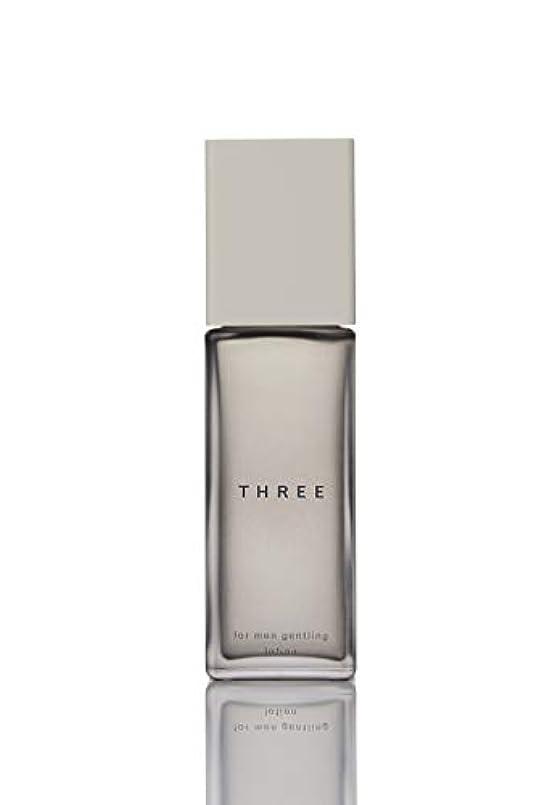 廊下悪意のある禁止するFIVEISM × THREE(ファイブイズム バイ スリー) THREE フォー?メン ジェントリング ローション 100mL 化粧水