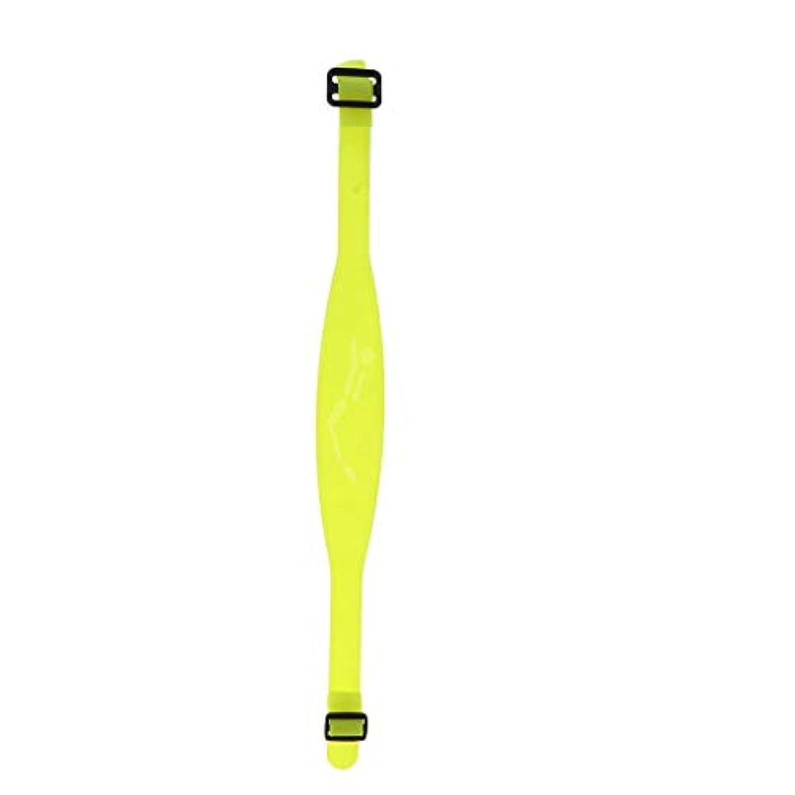 避ける慢性的熟読DYNWAVE ヘッドライト ストラップ 調節可能 防水 イエロー