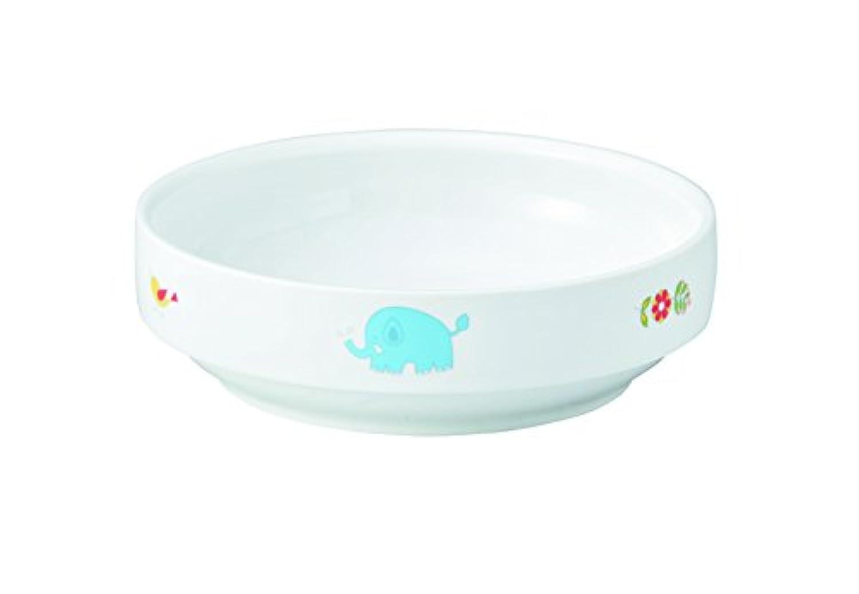 おぎそ OGISO ベビー食器 さふぁり すくいやすい14.5cm深小皿
