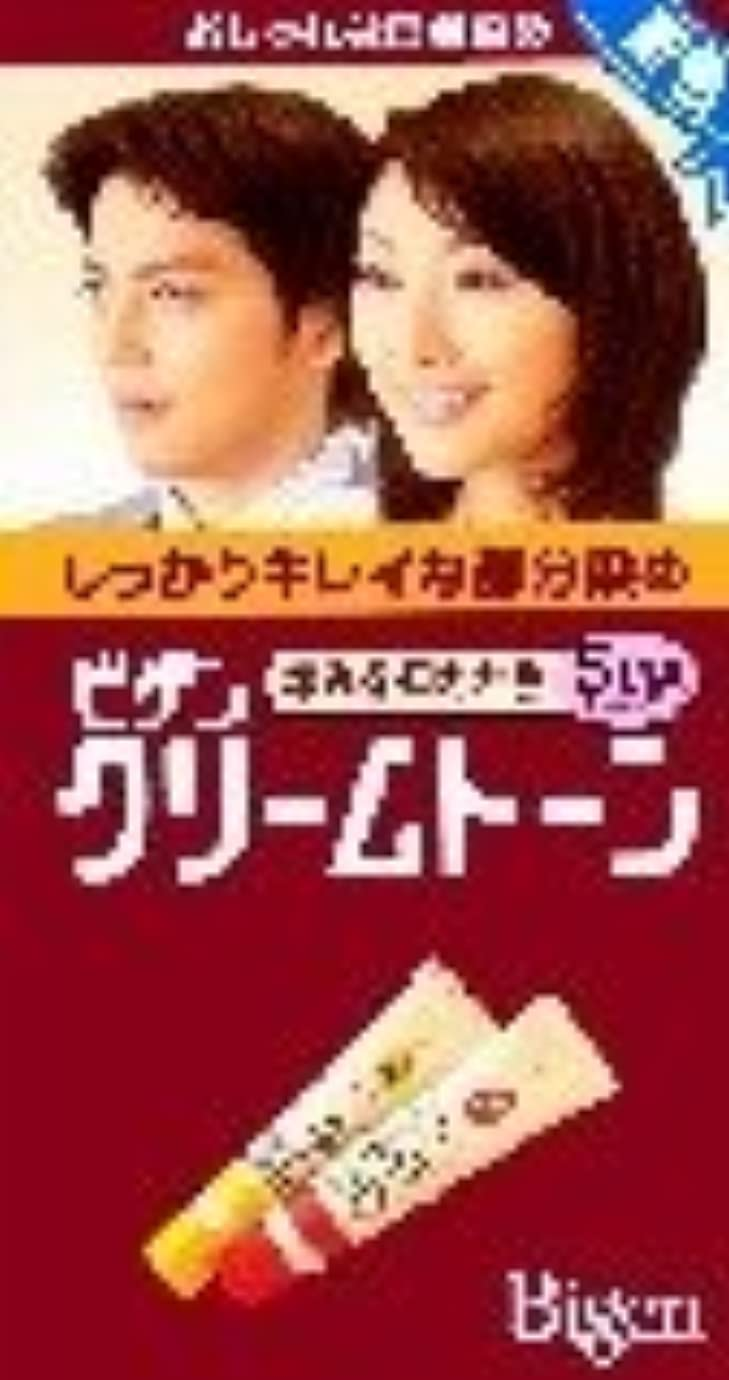 読書魅力ホットビゲン クリームトーン 5MA(深いマロンブラウン) ×6個