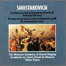 Shostakovich;10 Choruses on Te