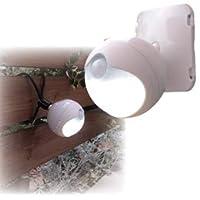 【まとめ 10セット】 旭電機化成 防雨LEDセンサーライト 809994