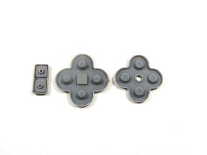 DSLite対応パーツ DSLite ボタンラバー DSLite専用の交換用ラバーパッド