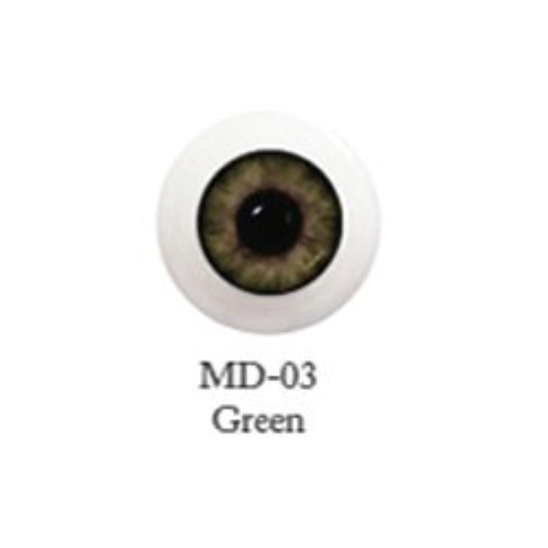 ドール用アクリルアイ ミスティックアイ 18mm 【MD-03グリーン】(並行輸入品)