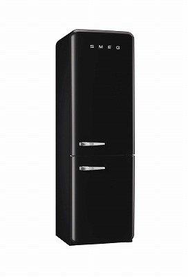 SMEG(スメッグ)高級2ドア冷凍冷蔵庫 FAB32 ブラック 100V 正規輸入品!