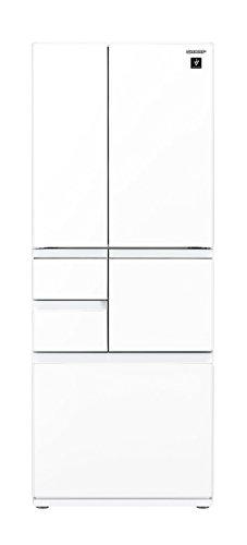 シャープ メガフリーザー 冷蔵庫 474L ピュアホワイト ...